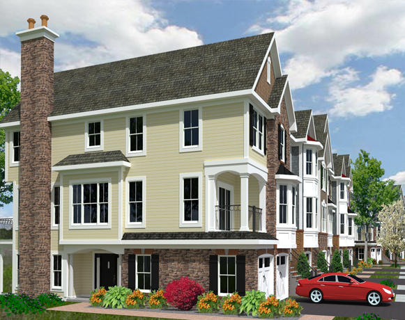Multi family homes holliday architects for Multi family home builders